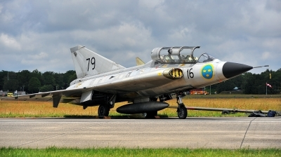 Photo ID 229072 by Alex Staruszkiewicz. Private Swedish Air Force Historic Flight Saab Sk35C Draken, SE DXP