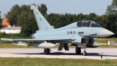 Photo ID 229175 by Carl Brent. Germany Air Force Eurofighter EF 2000 Typhoon T, 30 24