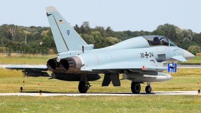 Photo ID 229176 by Carl Brent. Germany Air Force Eurofighter EF 2000 Typhoon T, 30 24