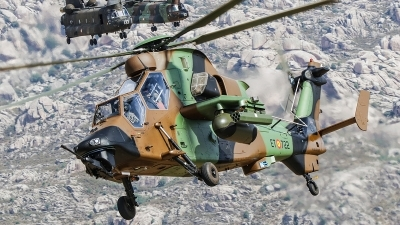 Photo ID 229177 by Ruben Galindo. Spain Army Eurocopter EC 665 Tiger HAD, HA 28 22 10071