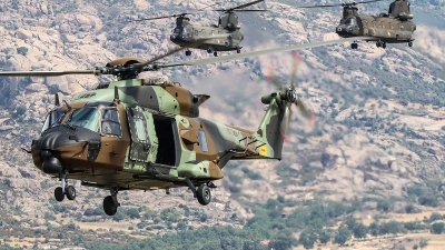 Photo ID 229178 by Ruben Galindo. Spain Army NHI NH 90TTH, HT 29 08 10088
