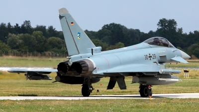 Photo ID 229180 by Carl Brent. Germany Air Force Eurofighter EF 2000 Typhoon S, 30 29