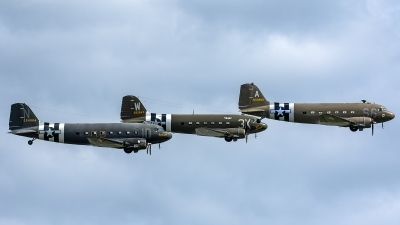 Photo ID 229234 by Thomas Ziegler - Aviation-Media. Private Aces High Ltd Douglas C 47A Skytrain, N147DC