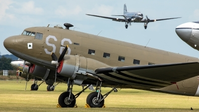 Photo ID 229236 by Thomas Ziegler - Aviation-Media. Private Aces High Ltd Douglas C 47A Skytrain, N147DC