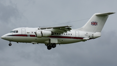 Photo ID 229324 by Thomas Ziegler - Aviation-Media. UK Air Force British Aerospace BAe 146 CC2 BAe 146 100 Statesman, ZE701
