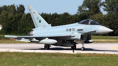 Photo ID 229224 by Carl Brent. Germany Air Force Eurofighter EF 2000 Typhoon S, 30 72
