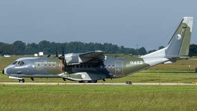 Photo ID 229372 by Thomas Ziegler - Aviation-Media. Czech Republic Air Force CASA C 295M, 0452
