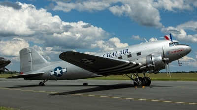 Photo ID 229293 by Thomas Ziegler - Aviation-Media. Private Chalair Douglas C 47B Skytrain, F AZOX