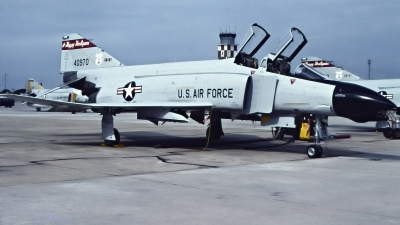 Photo ID 229284 by Gerrit Kok Collection. USA Air Force McDonnell Douglas F 4D Phantom II, 64 0970
