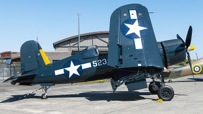 Photo ID 229361 by Aaron C. Rhodes. Private Flying Heritage Collection Goodyear FG 1D Corsair, N700G