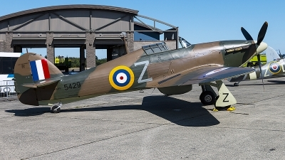 Photo ID 229312 by Aaron C. Rhodes. Private Flying Heritage Collection Hawker Hurricane XII, NX54FH