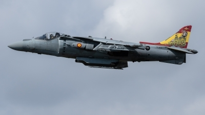 Photo ID 229331 by Luca Bani. Spain Navy McDonnell Douglas EAV 8B Harrier II, VA 1B 24