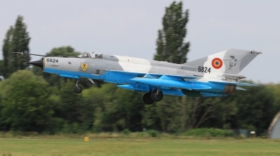 Photo ID 229393 by Milos Ruza. Romania Air Force Mikoyan Gurevich MiG 21MF 75 Lancer C, 6824