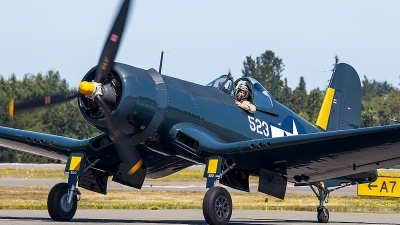 Photo ID 229363 by Aaron C. Rhodes. Private Flying Heritage Collection Goodyear FG 1D Corsair, N700G
