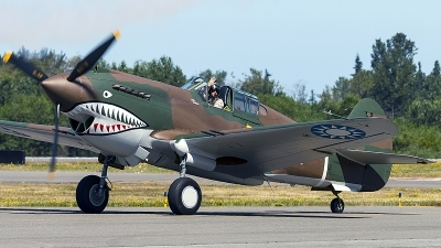 Photo ID 229364 by Aaron C. Rhodes. Private Flying Heritage Collection Curtiss P 40C Warhawk, NX2689