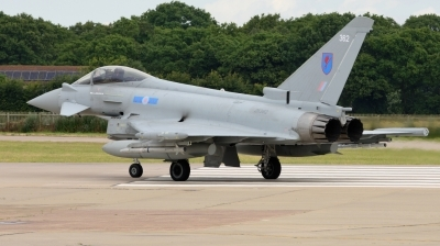Photo ID 229439 by Mike Hopwood. UK Air Force Eurofighter Typhoon FGR4, ZK362