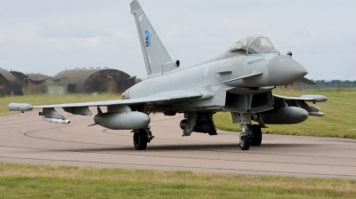 Photo ID 229440 by Mike Hopwood. UK Air Force Eurofighter Typhoon FGR4, ZK347