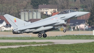 Photo ID 229544 by Ludwig Isch. UK Air Force Eurofighter Typhoon FGR4, ZK356