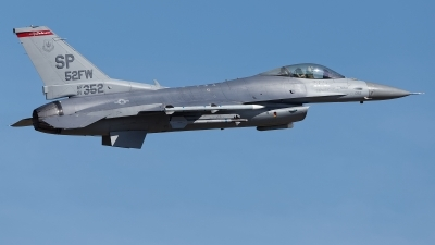 Photo ID 229512 by Rainer Mueller. USA Air Force General Dynamics F 16C Fighting Falcon, 91 0352