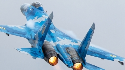 Photo ID 229562 by Rich Bedford - SRAviation. Ukraine Air Force Sukhoi Su 27S, 39 BLUE