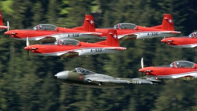 Photo ID 26843 by Sven Zimmermann. Switzerland Air Force Pilatus PC 7 Turbo Trainer, A 933