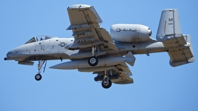 Photo ID 229560 by Rainer Mueller. USA Air Force Fairchild A 10C Thunderbolt II, 78 0641