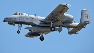 Photo ID 229559 by Rainer Mueller. USA Air Force Fairchild A 10C Thunderbolt II, 80 0262