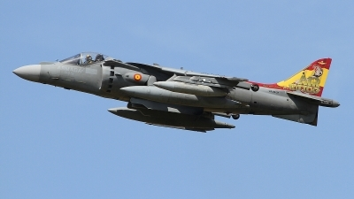 Photo ID 229565 by Paul Newbold. Spain Navy McDonnell Douglas EAV 8B Harrier II, VA 1B 37