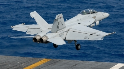 Photo ID 229576 by Klemens Hoevel. USA Navy Boeing F A 18F Super Hornet, 166808