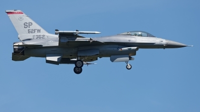 Photo ID 229573 by Rainer Mueller. USA Air Force General Dynamics F 16C Fighting Falcon, 91 0352