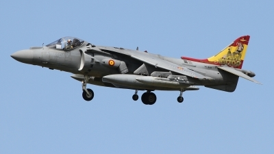 Photo ID 229600 by Paul Newbold. Spain Navy McDonnell Douglas EAV 8B Harrier II, VA 1B 24