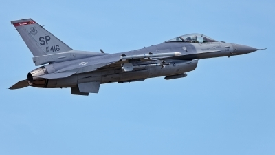 Photo ID 229660 by Rainer Mueller. USA Air Force General Dynamics F 16C Fighting Falcon, 91 0416