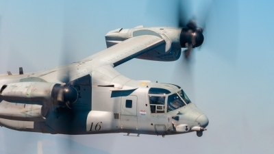 Photo ID 230256 by Myron Giannakakis. USA Marines Bell Boeing MV 22B Osprey, 168636