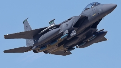 Photo ID 229701 by Rainer Mueller. USA Air Force McDonnell Douglas F 15E Strike Eagle, 87 0171