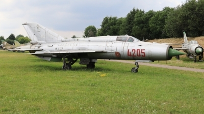 Photo ID 229710 by Milos Ruza. Poland Air Force Mikoyan Gurevich MiG 21PFM, 4205