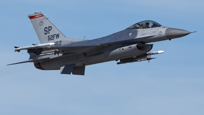 Photo ID 229762 by Rainer Mueller. USA Air Force General Dynamics F 16C Fighting Falcon, 91 0352
