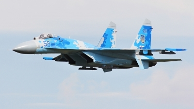 Photo ID 229900 by Milos Ruza. Ukraine Air Force Sukhoi Su 27P1M,