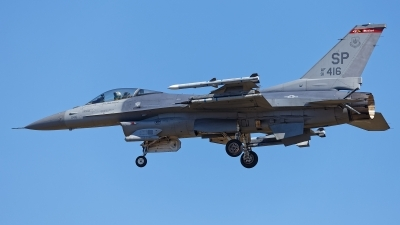 Photo ID 229765 by Rainer Mueller. USA Air Force General Dynamics F 16C Fighting Falcon, 91 0416