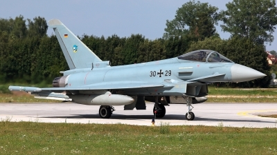 Photo ID 229861 by Carl Brent. Germany Air Force Eurofighter EF 2000 Typhoon S, 30 29