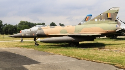 Photo ID 229882 by Milos Ruza. Belgium Air Force Dassault Mirage 5BA, BA03