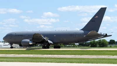 Photo ID 229871 by Steve Homewood. USA Air Force Boeing KC 46A Pegasus 767 200LRF, 17 46035
