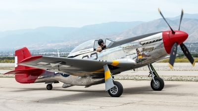 Photo ID 229956 by W.A.Kazior. Private Palm Springs Air Museum North American P 51D Mustang, NL151BP