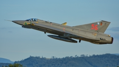 Photo ID 229931 by Radim Spalek. Private Swedish Air Force Historic Flight Saab J35J Draken, SE DXR