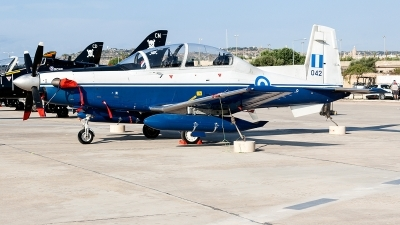Photo ID 230041 by Ray Biagio Pace. Greece Air Force Raytheon AT 6A Texan II, 042