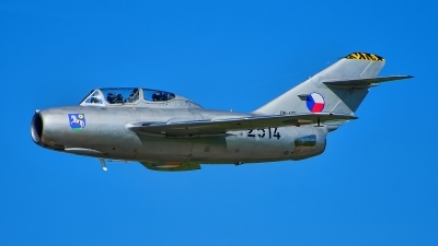 Photo ID 230153 by Radim Spalek. Private Czech Flying Legends Mikoyan Gurevich MiG 15UTI, OK UTI