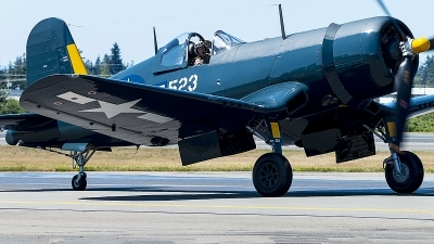Photo ID 230150 by Aaron C. Rhodes. Private Flying Heritage Collection Goodyear FG 1D Corsair, N700G