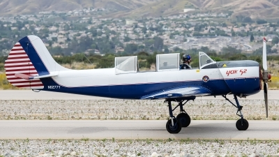 Photo ID 230239 by W.A.Kazior. Private Private Yakovlev Aerostar Yak 52TW, N6277Y