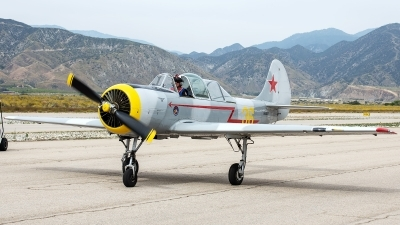 Photo ID 230244 by W.A.Kazior. Private Red Eagles Formation Team Yakovlev Yak 52 Bacau, N5287
