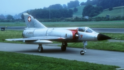 Photo ID 230277 by Rainer Mueller. Switzerland Air Force Dassault Mirage IIIS, J 2305