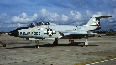 Photo ID 230300 by Gerrit Kok Collection. USA Air Force McDonnell F 101B Voodoo, 57 0348